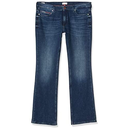 chollos oferta descuentos barato Tommy Jeans Mujer Tj 1979 Mid Rise Bootcut Dsymd Straight Jeans Azul Denim A W24 L30