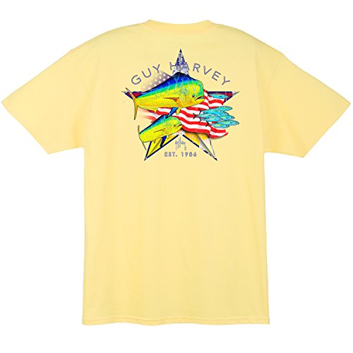 Guy Harvey Good Times Short Sleeve Men's T-Shirt - Fish Short Sleeve Tee