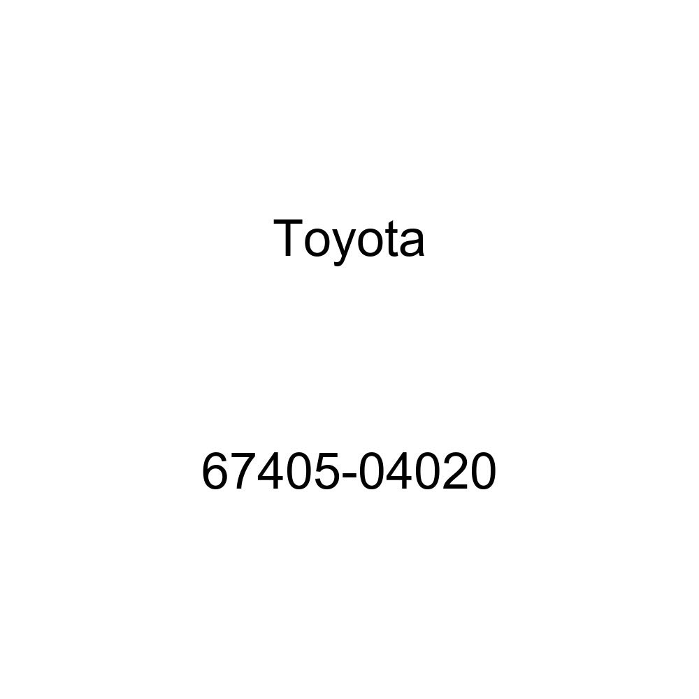Toyota 67405-04020 Door Window Guide Sub Assembly