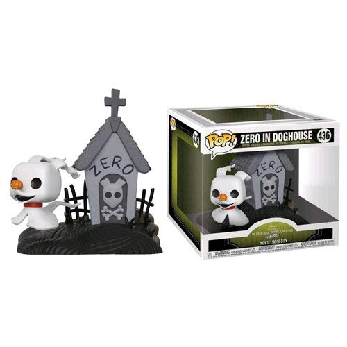 Funko POP! Movie Moments: Disney The Nightmare Before Christmas - Zero in Doghouse #436 - BoxLunch Exclusive! ()