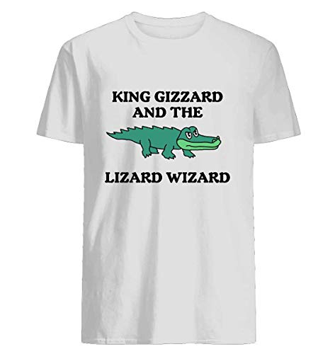 King Gizzard And The Lizard Wizard - large image - Men's Short Sleeve Graphic Fashion T-Shirt ()
