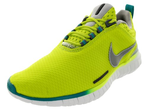 Nike Men's Free OG '14 Br Running Shoe (11.5, Volt/Aqua/Grey)