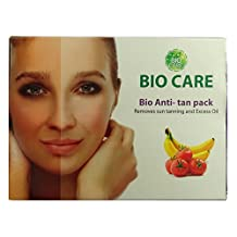 Bio Care Anti-Tan Pack For Removes Sun Tanning And Excess Oil - 3.5 Ounce