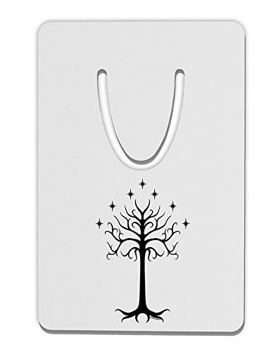 TooLoud The Royal White Tree Aluminum Paper Clip Bookmark ()