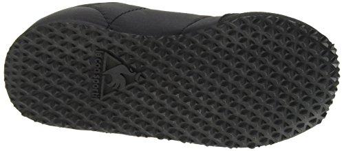 Le Coq Sportif Racerone Inf - Zapatos de primeros pasos Bebé-Niños Negro - Noir (Black/Sky Blue)