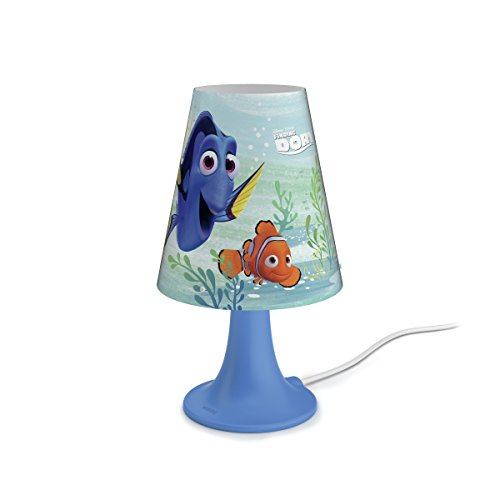 Philips Disney Findet Dorie LED Tischleuchte, blau