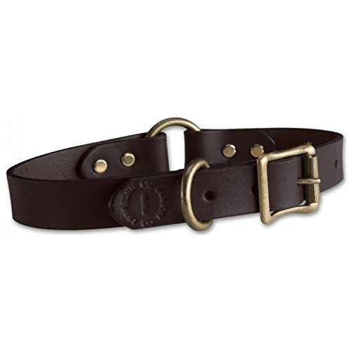 Filson Leather Puppy Collar - Brown 9