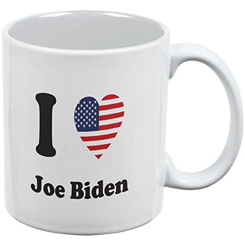 Election 2016 - I Heart Joe Biden White All Over Coffee Mug
