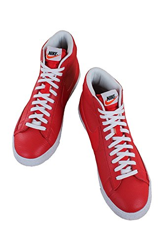 reputable site 69a85 6cfd1 ... 50% off alto premium nike blazer collo sneaker game red a uomo white mid  zwyergxqy