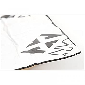 Black, 4sqft NVX Professional Grade 90mil Sound Deadening Kit