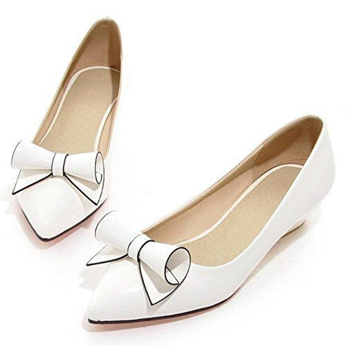 Mode Escarpins Enfiler Femmes white JOJONUNU a 4q5znw