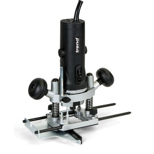 Trend T4EK 850-Watt 1.1-HP Variable-Speed Plunge-Base Router (Tools Power Trend)