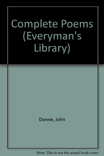 Donne: Poems (Everyman's Library)