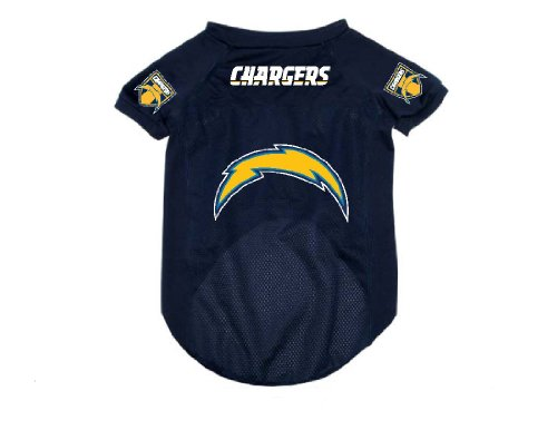 San Diego Chargers Pet Dog Football Jersey Alternate SMALL