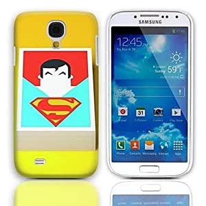 LZX Cartoon Man Pattern Hard Case with 3-Pack Screen Protectors for Samsung Galaxy S4 I9500