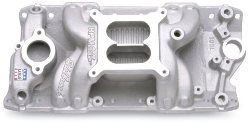 Edelbrock 7501 Performer RPM Air-Gap Intake Manifold - Edelbrock Rpm Air Gap Intake
