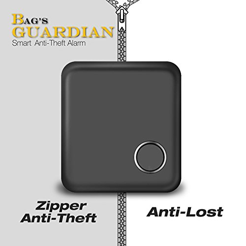 Daite Zipper Open Alarm  Anti Theft   Bluetooth Locator Finder Tracker For Phone  Wallet  Bag  Child  Key  Pet And Anything
