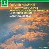 Marie-Claire Alain plays Messiaen Nativite Du Seigneur, Apparition de L'Eglise Eternelle, Le Banquet Celeste (Erato)