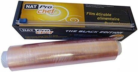 Natur'Al Packaging Protector Stretch Cut Zip Frischhaltefolie Pro ohne Deha für Lebensmittelverarbeitung, Mikrowelle und Gefrierschrank Safe 2 Stück