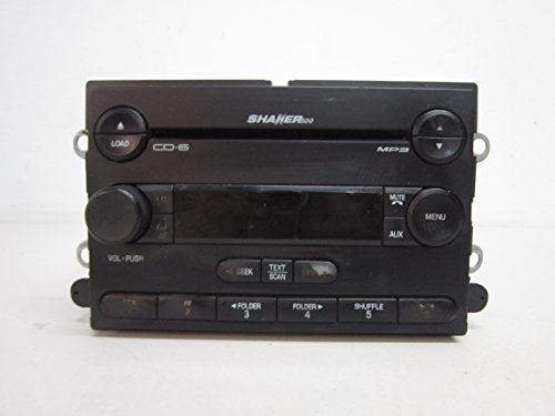 (07 08 09 FORD MUSTANG SHAKER 500 RADIO 6 DISC MP3 CD PLAYER)
