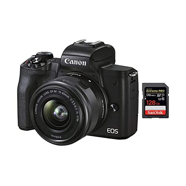 RetinaPix Canon M50 Mark II 15-45mm f3.5-6.3 is STM