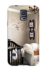 Susan Rutledge-Jukes's Shop Case Cover Protector Specially Made For Galaxy S5 Baby Girl Nursery With Unique Wall Art