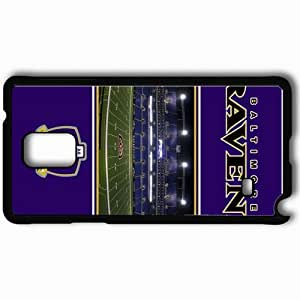 Personalized Samsung Note 4 Cell phone Case/Cover Skin 955 baltimore ravens Black