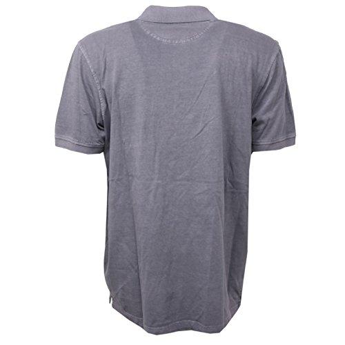 B2848 polo uomo BUGATTI CARVICO cotone grigio manica corta t-shirt polo men Grigio
