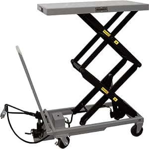Amazon Com Roughneck Air Hydraulic Lift Table Cart