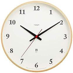 Lemnos Plywood clock radio clock Natural LC05-01W NT