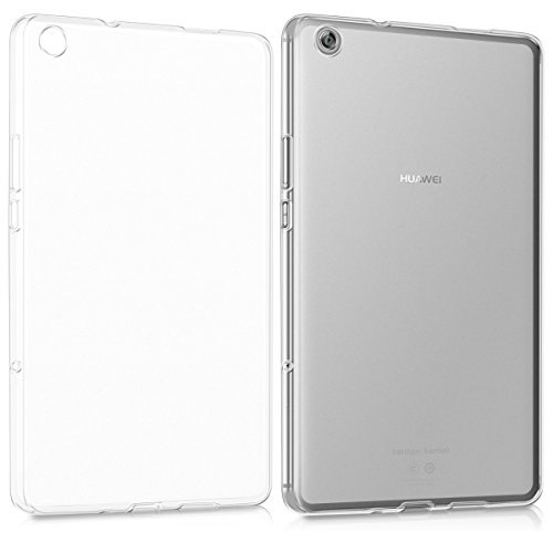 kwmobile Huawei MediaPad M3 Lite 8 Case - Crystal TPU Cover for Huawei MediaPad M3 Lite 8 - Matte Transparent