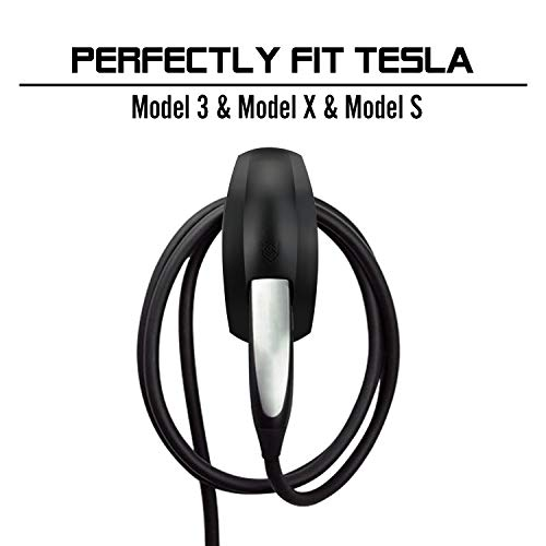 Seven Sparta Charging Cable Holder for Tesla Model 3 Model X Model S  Charger Cable Organizer Tesla Accessories Car Wall Connector