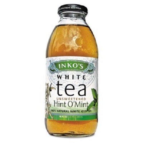 ite Tea, 16 Ounce, 12/Carton (Inkos White Tea)