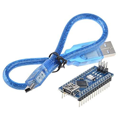 yan USB Nano V3.0 ATmega328 16M 5V Micro-Controller CH340G Board for Arduino W/Cable