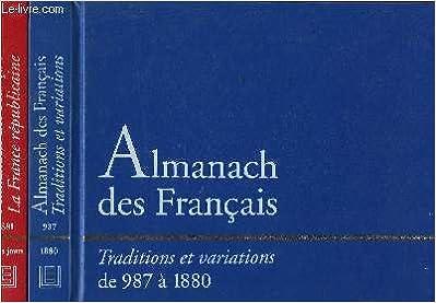 Coffret De Deux Almanach Des Francais Traditions Et
