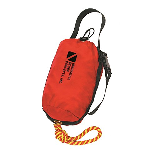 Innovative Scuba Trow Rope And Bag For Boating, Scuba Diving, Kayak, Canoe, Water Sports 75 Feet, FL0701