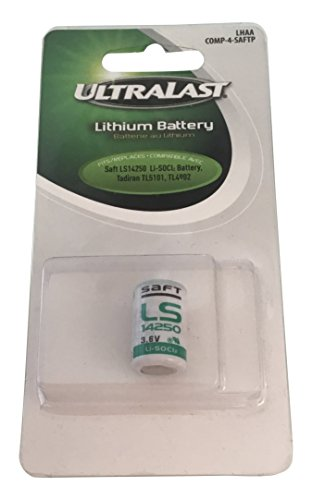 - Ultralast LHAA Primary 1/2 AA Lithium Battery