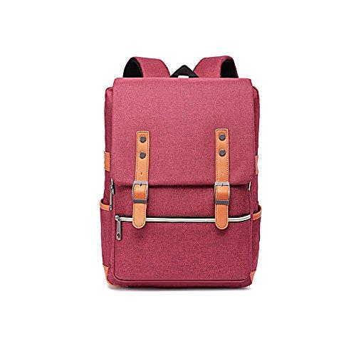 zero-five-backpack-casual-lightweight-waterproof-for-school-travel-hiking-notebook-grey-pink