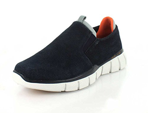 Skechers Mens Equalizer 2.0 - Lodini Casual Shoe Navy