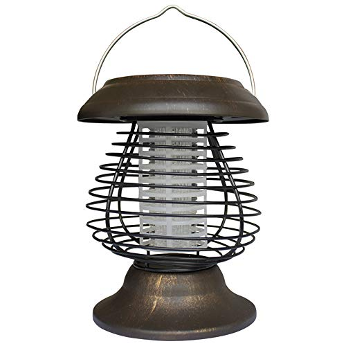 Pangxiannv Solar Powered Portable Electric Mosquito Lamp Mosquito Killer Lamps Solar Bug Propane Mosquito Trap Electric Mosquito Killer Outdoor Bug Zapper Fly Trap Fly Zapper Indoor