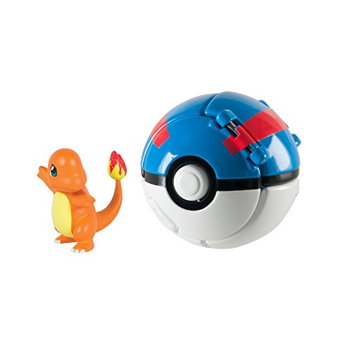 Pokémon Throw 'N' Pop Charmander and Great - Pokemon Ball