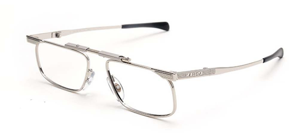 7a6788ff4b8 Amazon.com  SlimFold Reading Glasses by Kanda of Japan Model 3 Color Silver  Strength +2.00  Health   Personal Care