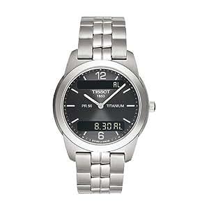 Tissot PR50 TT34748762 - Reloj de mujer automático, correa de acero inoxidable color varios colores