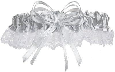 Lace Garter in Silver