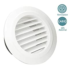 HG POWER 6 Inch Round Air Vent ABS Louve...