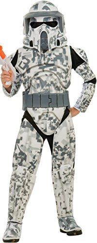 Wars Costume Trooper Star Arf Child (Star Wars The Clone Wars, Child's Deluxe Costume And Mask, Arf Trooper)
