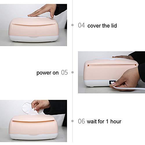 Toallitas húmedas para bebés Calentador de temperatura constante 24H Máquina de toallitas de gran capacidad Toallitas calientes Caja de calefacción ...