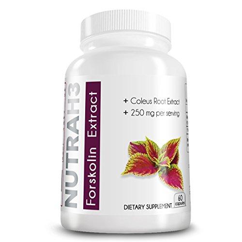 Forskoline Fat Burner - supplément de perte de poids - 250 mg par portion - la plus haute supplément de perte de la qualité de la forskoline Poids Disponible! 60 Capsules