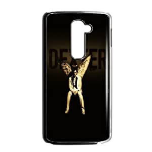 LG G2 Cell Phone Case Black Dexter Angel Wings SLI_630294