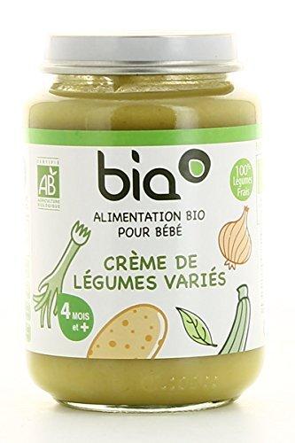 Alimento Infantil Ecológico Bia - Crema De Verduras Variadas Tarro 200G: Amazon.es: Alimentación y bebidas